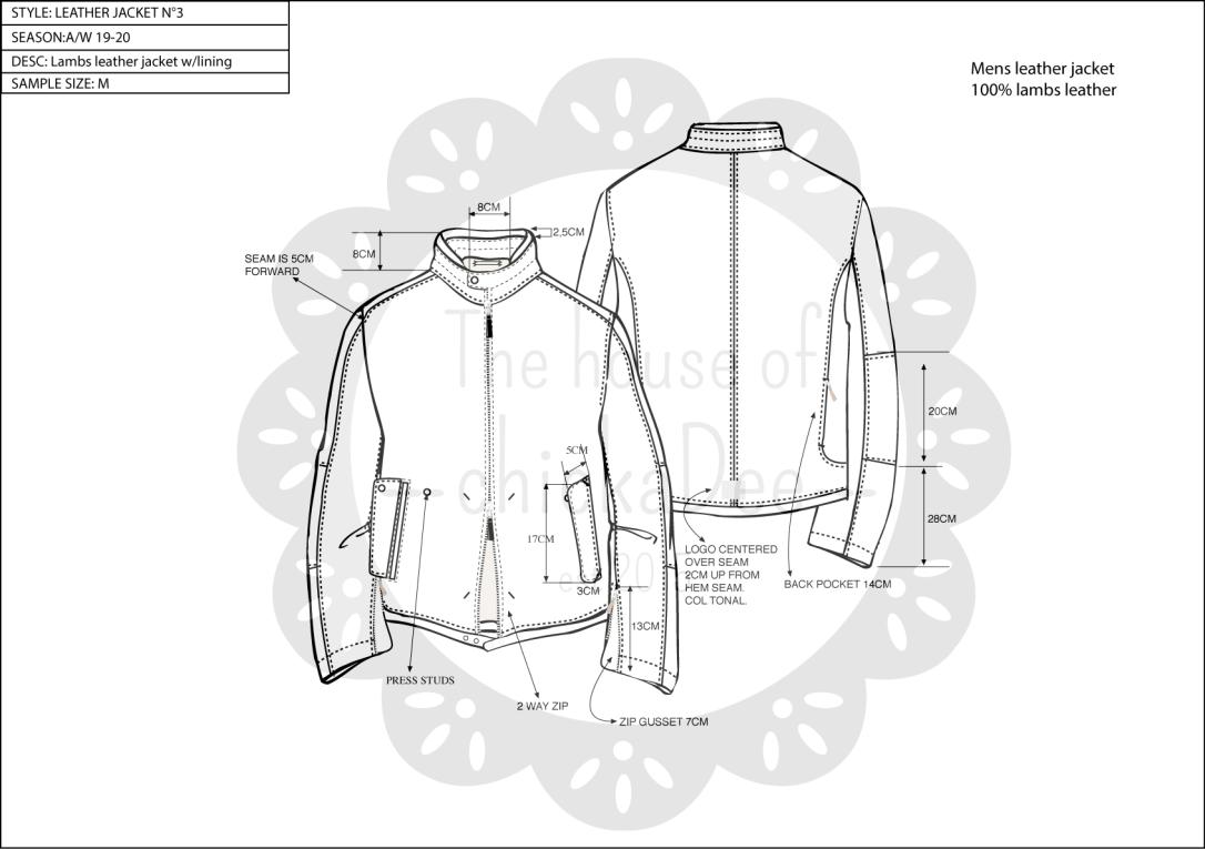 technical fashion cad